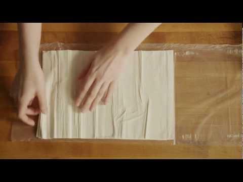شیرینی پزی-تهیه باقلوا  ترکی آسان و لذیذ