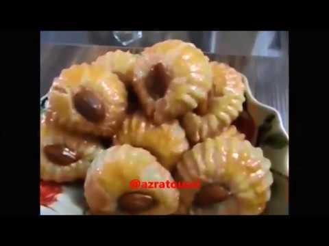 شیرینی پزی-باقلوای شانه استانبولی