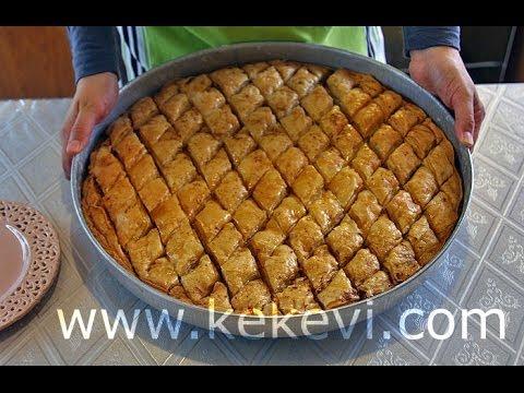 شیرینی پزی-باقلوای ترکی-شیرینی ساده و خوشمزه