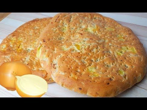 پخت نان-نان پیازی خوشمزه