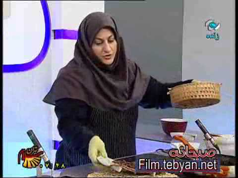 آشپزی رمضان-املت شیره خرما-افطار رمضان