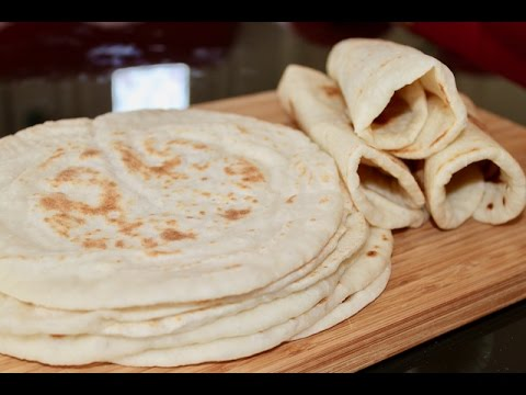 پخت نان -تهیه نان لواش در خانه