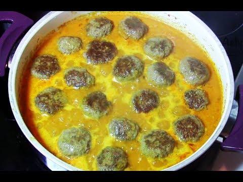 غذای رمضان-طرز تهیه کوفته قلقلی خوشمزه در سس کاری
