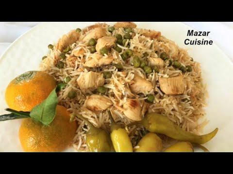 آشپزی آسان-تهیه برنج قاطی با مرغ