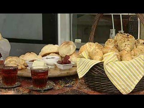 پخت نان-پخت نان کروسان شکلاتی-صبحانه کودکان
