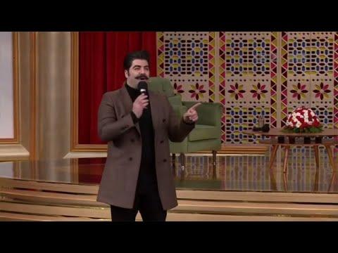 بهنام بانی اجرای آهنگ اخماتو وا کن در برنامه دورهمی
