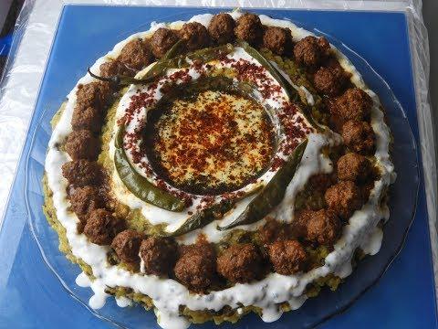 غذای رمضان-طرز تهیه کچری قروت کوفته دار