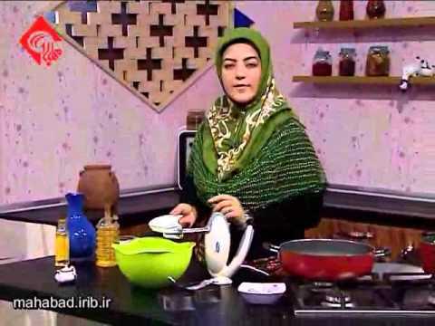 شیرینی ماه رمضان-تهیه زولبیا خوشمزه-شیرینی مخصوص ماه رمضان