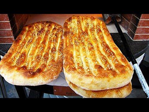 پخت نان- طرزدرست کردن نان بربری خیلی خیلی خوشمزه و آسان در خانه