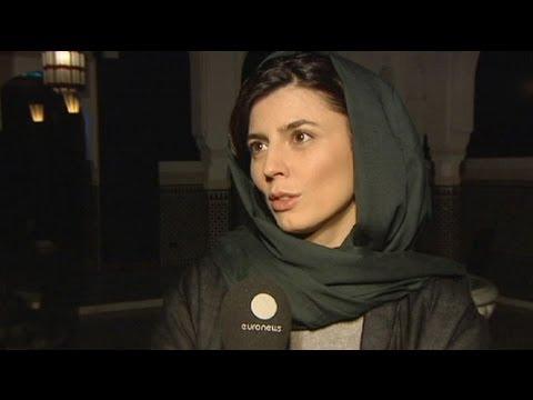 گفتگوی اختصاصی یورونیوز با لیلا حاتمی
