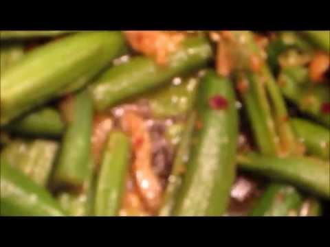 غذای رمضان-تهیه باميه و سبزیجات-افطار جدید