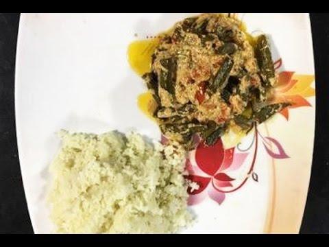 غذای رمضان –تهیه خوراک بامیه آسان و خوشمزه-افطار رمضان