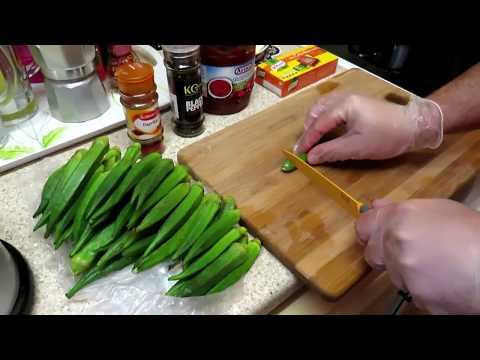 غذای رمضان-روش تهیه و سرو بامیه-غذای رمضان