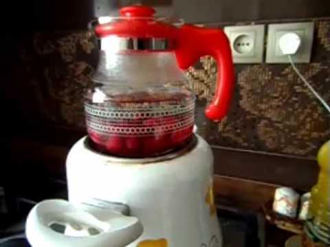 آشپزی ساده-تهیه دمنوش  آلبالو