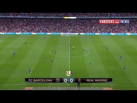 تحقیر بارسلونا توسط کریستین رونالدو و رئال مادرید در سوپرکاپ اسپانیا
