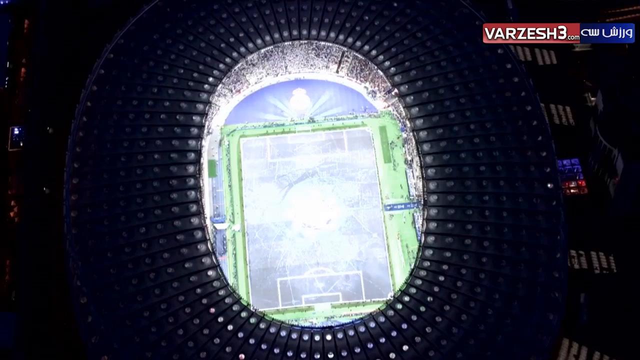 ورود جام قهرمانی به زمین توسط شوچنکو