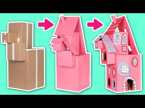 برنامه جعبه کاردستی در سایت جعبه-ساختن خانه با کارتن-کارتون جعبه کاردستی