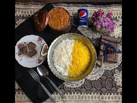 آشپزی ایرانی-طرز تهیه قیمه بوشهری و شکر پلو