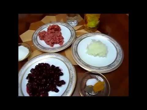 آشپزی ایرانی-تهیه خورش آلبالو - آشپزی از اینجا تا آنجا با عذرا