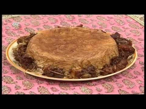 آشپزی ایرانی--رشته پلو با لوبیای چشم بلبلی