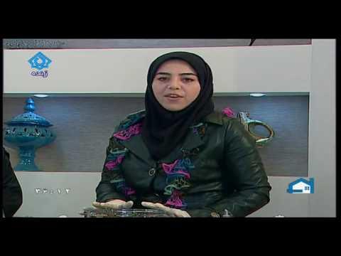 آشپزی ایرانی-شارلوت بادمجان به زبان آذری