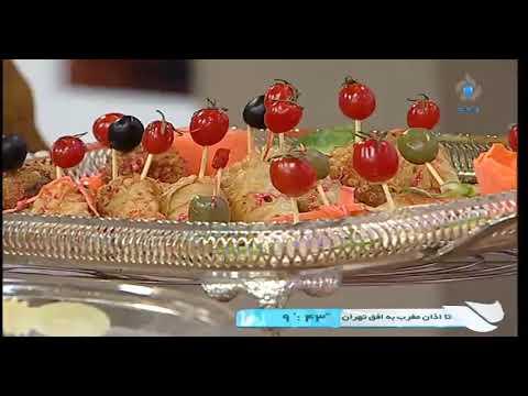 آشپزی ایرانی-مانیکوتن بادمجان