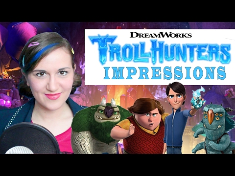 TROLLHUNTERS Impressions -انیمیشن غول کش ها اپارات