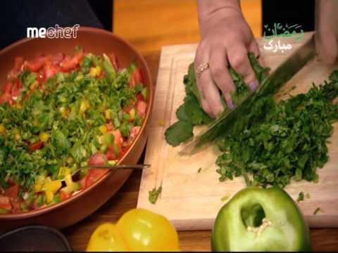 آشپزی مدرن-سالاد سبزی پبره