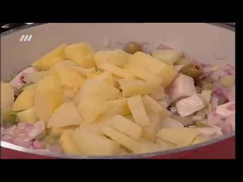 آشپزی مدرن-سالاد مرغ و سیب زمینی