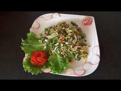 آشپزی مدرن-سالاد میکس  , بسیار ساده و با  ویتامین بسیار قوی و بالا