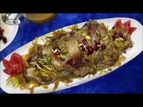 آشپزی ایرانی-آموزش چلو گردن مجلسی پروانه جوادی