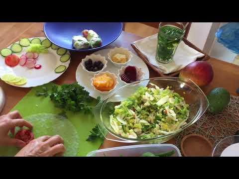 آشپزی مدرن-طرز تهیه رول تابستانی