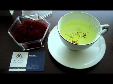آشپزی ایرانی-تهیه چای زعفران