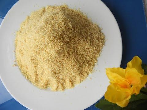 شیرینی پزی-طرز تهیه آرد نخود در منزل