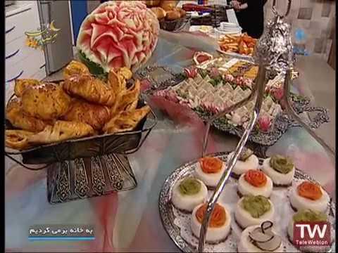 تهیه نان-  نان نارگیل