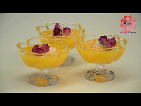 تهیه دسر-دستور پخت لوکوم پرتقالی