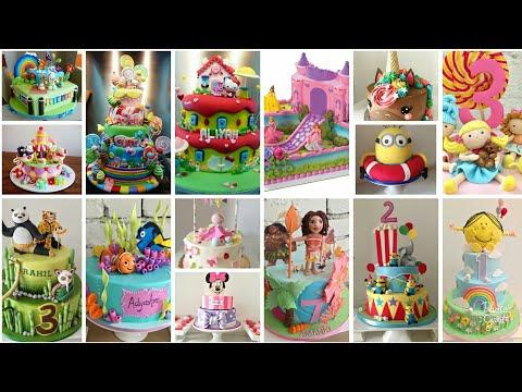 ایده تزیین کیک تولد کودکان-بسیار خلاق