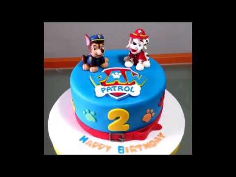 ایده تزیین کیک تولد پسرونه-جشن تولد 2 سالگی