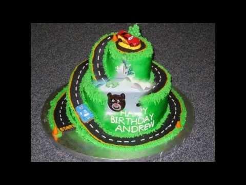 ایده تزیین کیک تولد پسرونه-جشن پسران
