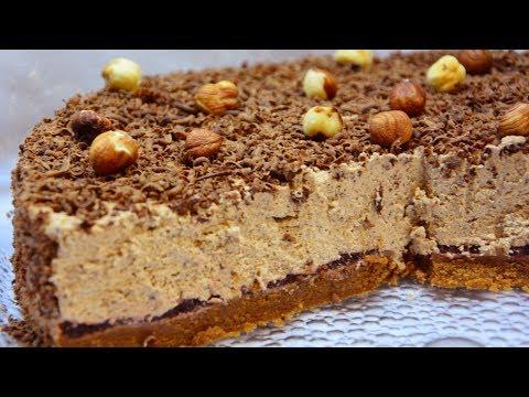 کیک پزی-کیک شکلاتی یخچالی