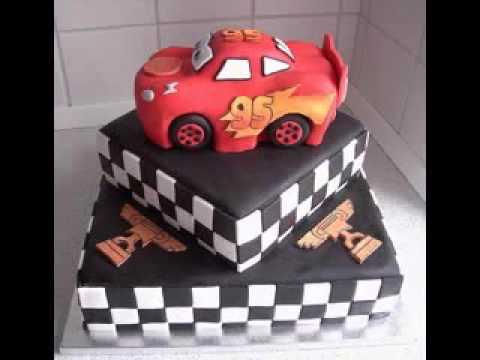 ایده تزیین کیک تولد پسرونه خلاقانه-ماشین ها