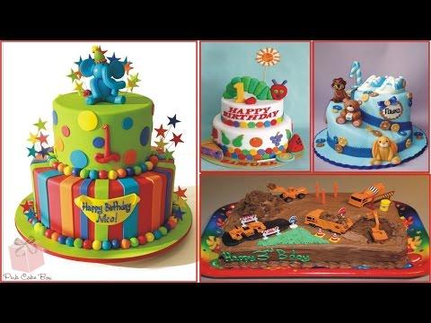 ایده تزیین کیک تولد مخصوص کودکان 2