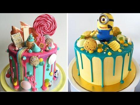 ایده تزیین کیک تولد پسرونه 2017