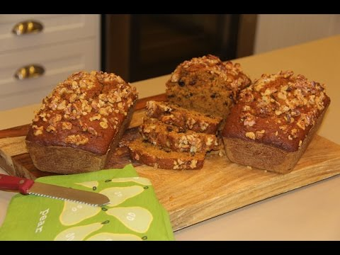 تهیه نان-  نان کدو