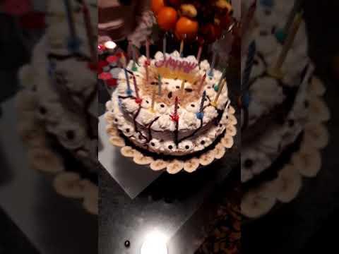 کیک پزی- تهیه کیک تولد
