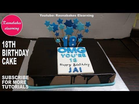 ایده تزیین کیک تولد پسرونه-مخصوص نوجوانان