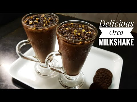 تهیه نوشیدنی خنک-میلک شیک شکلاتی در 2 دقیقه