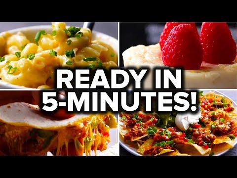 آشپزی مدرن-غذای خوشمزه در 5 دقیقه