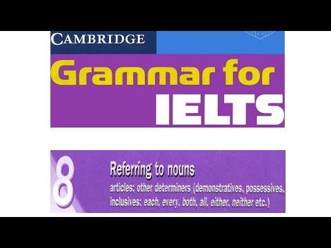 Cambridge Grammar for IELTS Unit 8