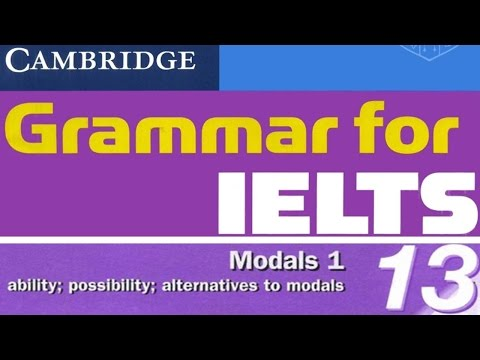 [IELTS Grammar] Cambridge Grammar for IELTS Unit 13